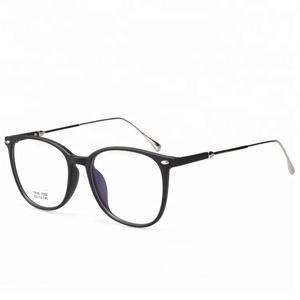 01a15ecab728 Tr90 Ultralight Female Transparent Eyeglasses Frames For Women Men Vintage  Optical Eyewear
