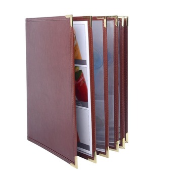 leather restaurant menu folder covers buy leather restaurant menu