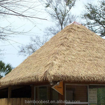 2017 New Man Made Thatch Roofing Thatch Roof Natural Material Bamboo Gazebo