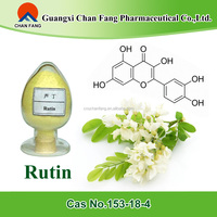 GMP FDA ISO Certified Natural Sophora japonica flower extract Rutin powder 95%/98%