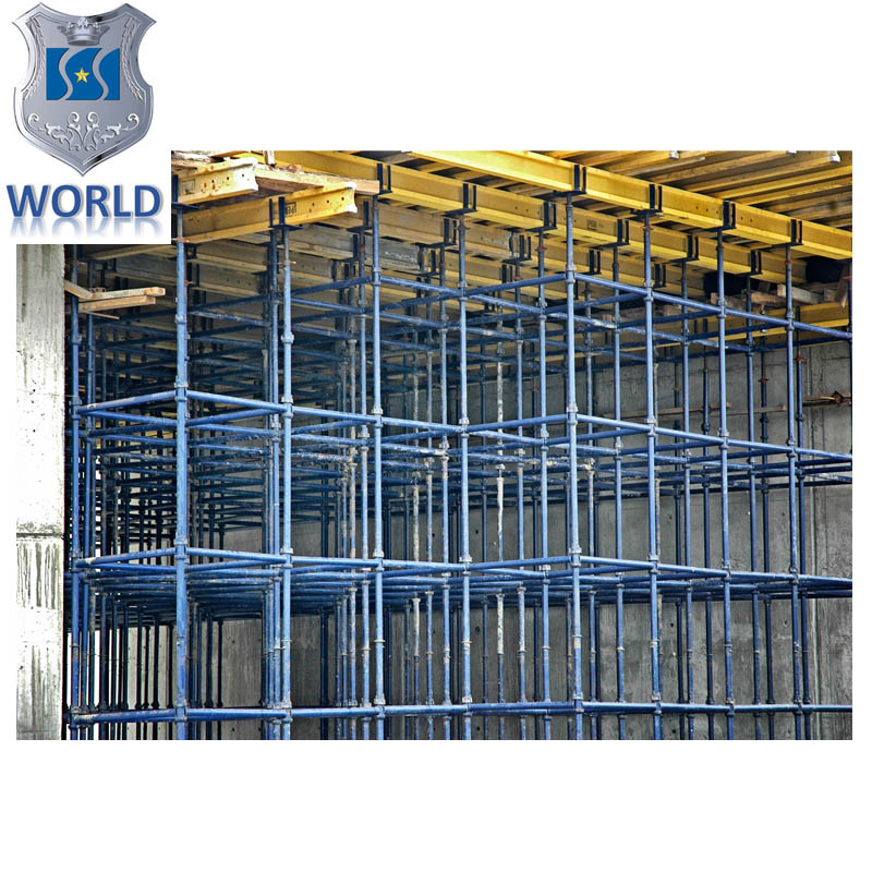 WORLD brand construction heavy duty bridge support cup lock scaffolding(Real factory produce)