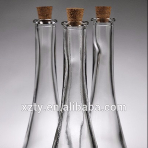 Miniature Tear Drop Glass Bottles 4oz