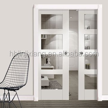 Panel Gl Pocket Door Interior With Frame