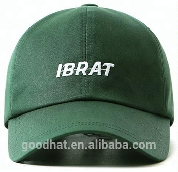 14bb5c8afba unique fashion ball cap wholesale green metal strap buckle little  embroidered logo youth baseball hats