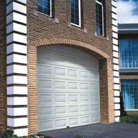 High performacein sliding side opening garage door