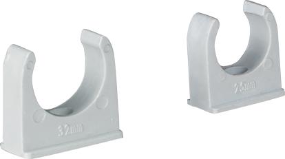 Wholesale Electrical Conduit Fittings White Pvc Saddle