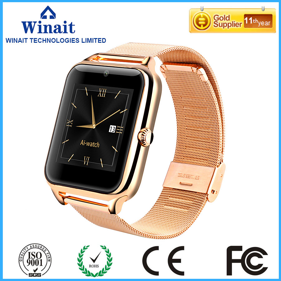 Winait Z50 smart watch that supports Pedometer Step motion meter, Calorie Counter,mileage record