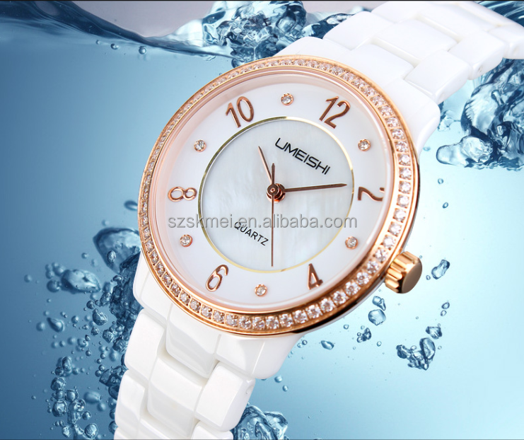 new products 2014 true High-tech fashion ceramic wrist watch in hot market