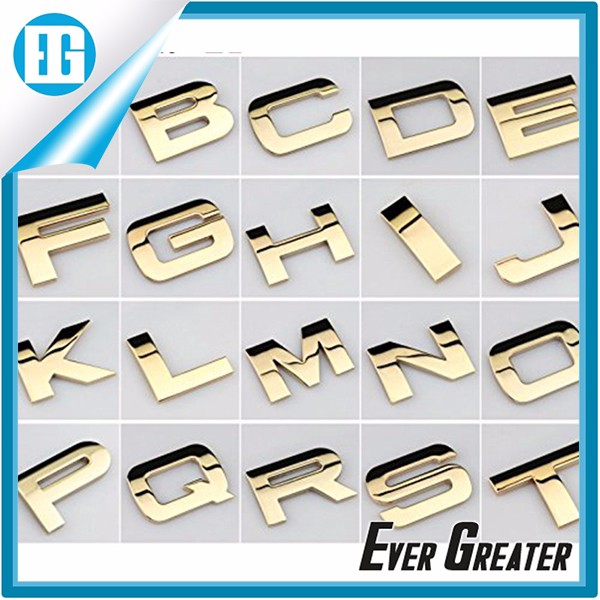 Motorcycle Auto Chrome Emblems