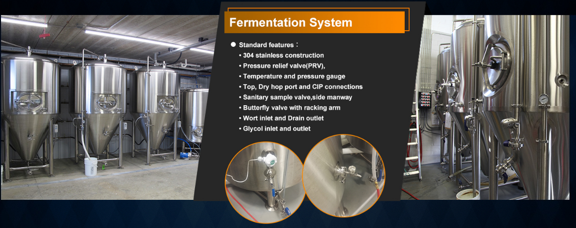 5bbl brewery equipment,7bbl steam brewhouse system,America style beer making machine