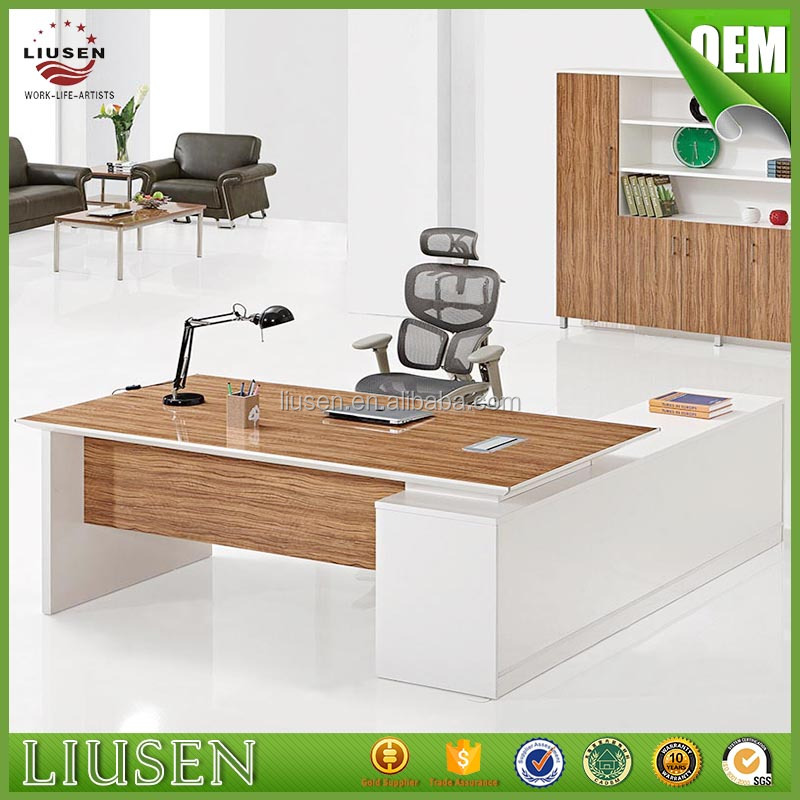 High quality eco friendly modern medical office furniture manager melamine office working table