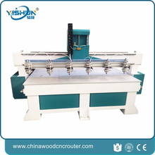 high power wood cutting cnc router rice wholesale price multi spindle