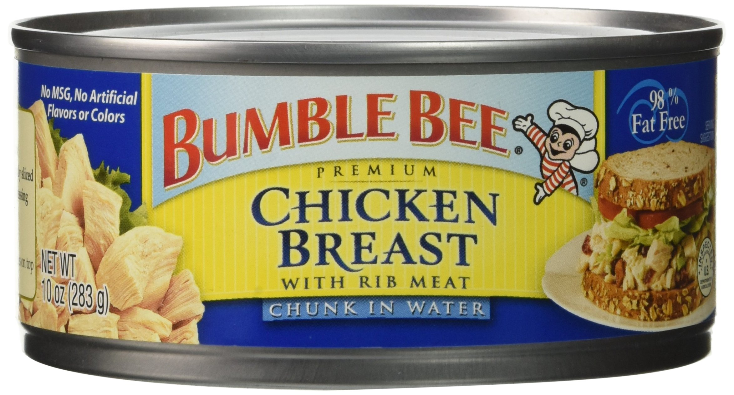Bumble Bee Premium Chicken Breast in Water, 10 Ounce