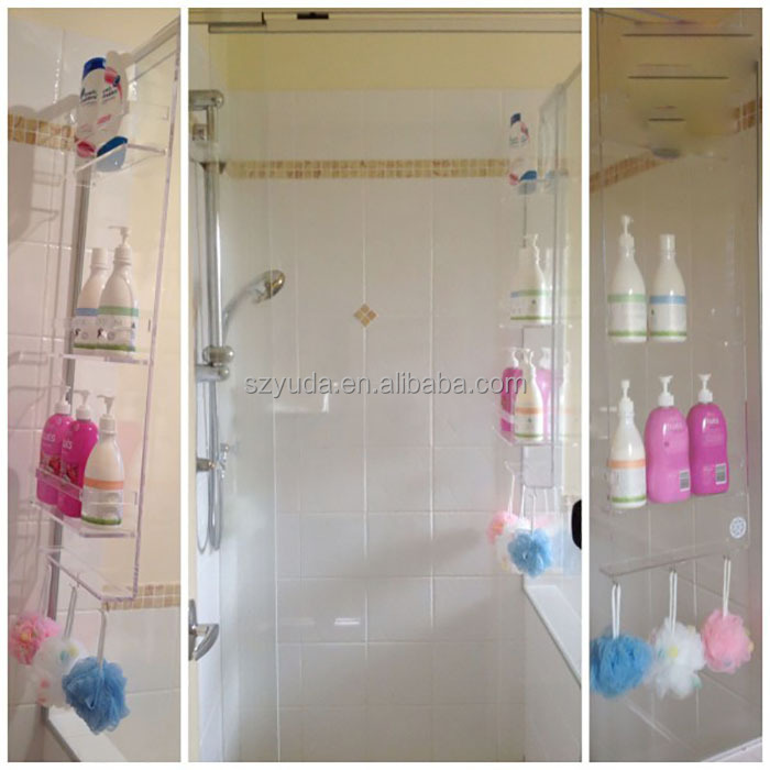 Hanging Acrylic Bathroom Shower Caddy, Hanging Acrylic Bathroom ...