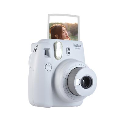 Комплект мини-камеры Fujifilm Instax Mini 9, камера для мгновенной съемки с пленкой 20 *, фоторамка + зажим + подвесной ремень(Китай)