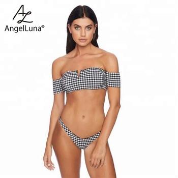 e528b2db885c0 Angel Luna 2016 2018 2019 teen micro hot sexy girls scrunch butt clear  plastic bra bikini