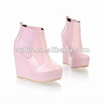 platform rubber shoes high heels rubber boots