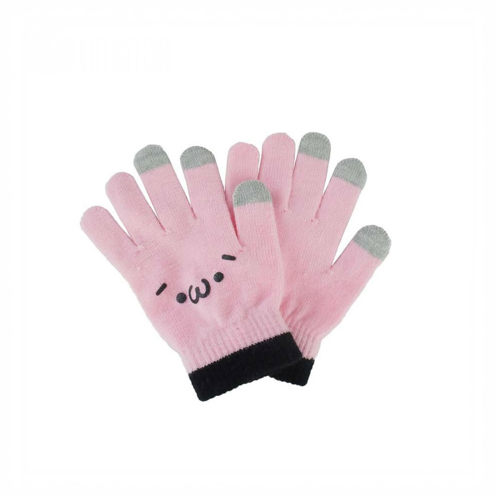Made In China Wholesale Cheap Acrylic Knitted touch screen Gloves