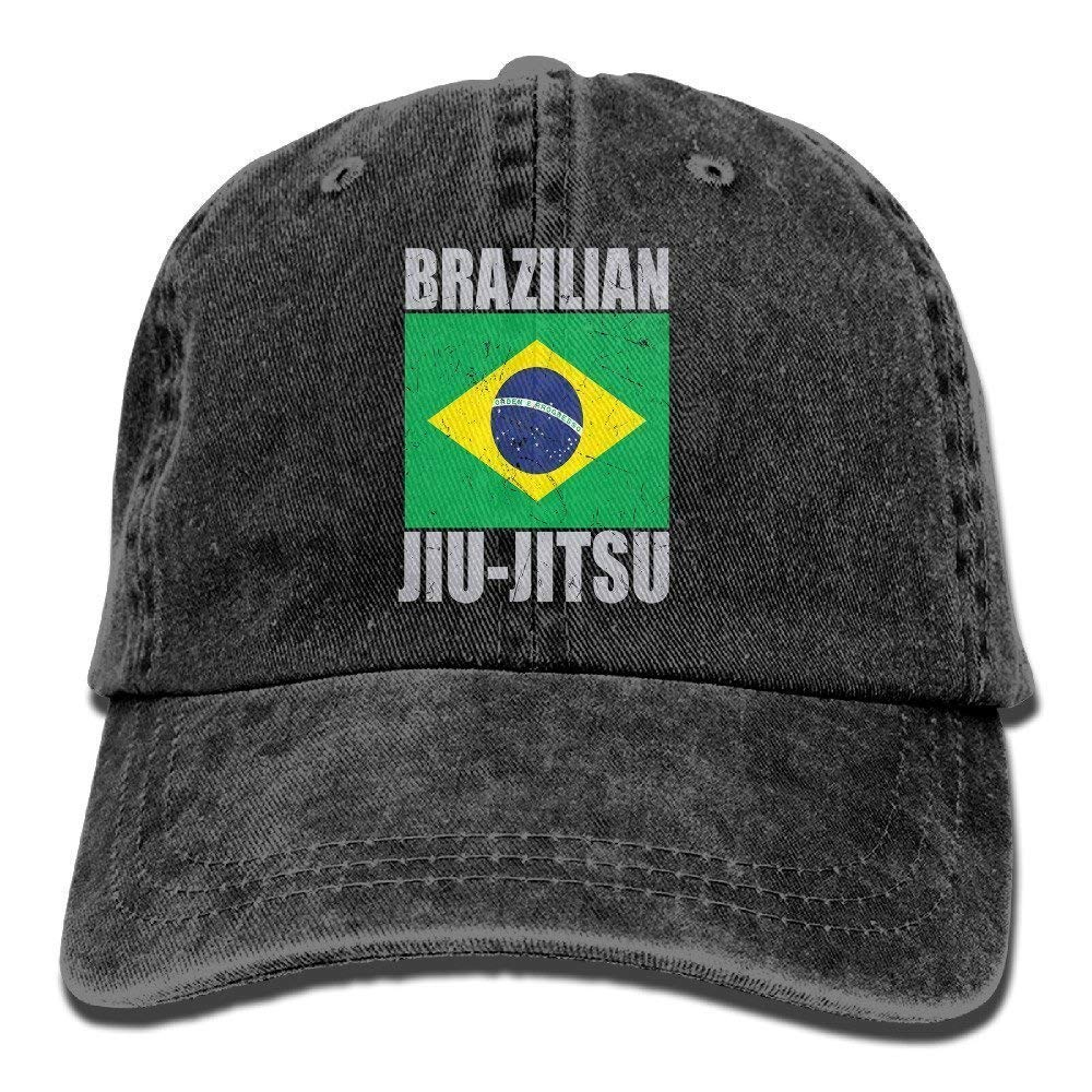 3e71d77e1b3 Get Quotations · Qesisdk Brazilian Jiu Jitsu Vintage Washed Dyed Cotton and  Denim Hats Adjustable Baseball Caps