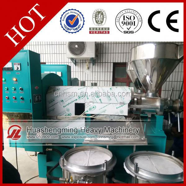 HSM Manufacture ISO CE combined peanut oil press machine for chile with oil filter