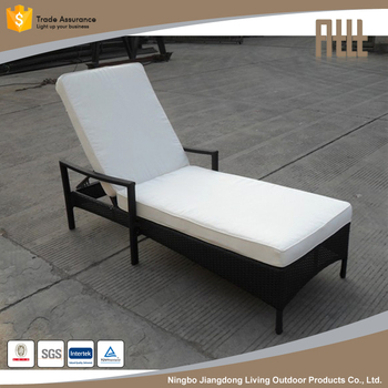 Customized Waterproof Outsunny Reclining Pe Rattan Wicker Patio