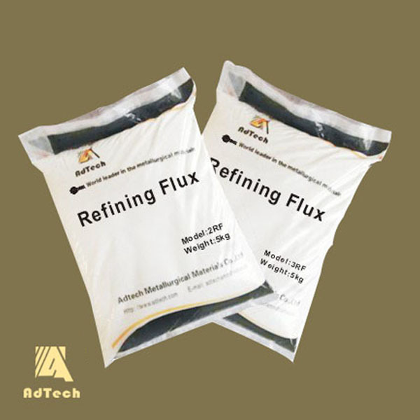 Refining deslagging flux for melting aluminum,slag removing flux for metal foundry