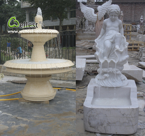 Exterior decoration garden geyser patio water fountain low price