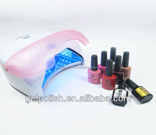 Portable home use nail gel polish kit take for travel whole set of nail beauty stuff