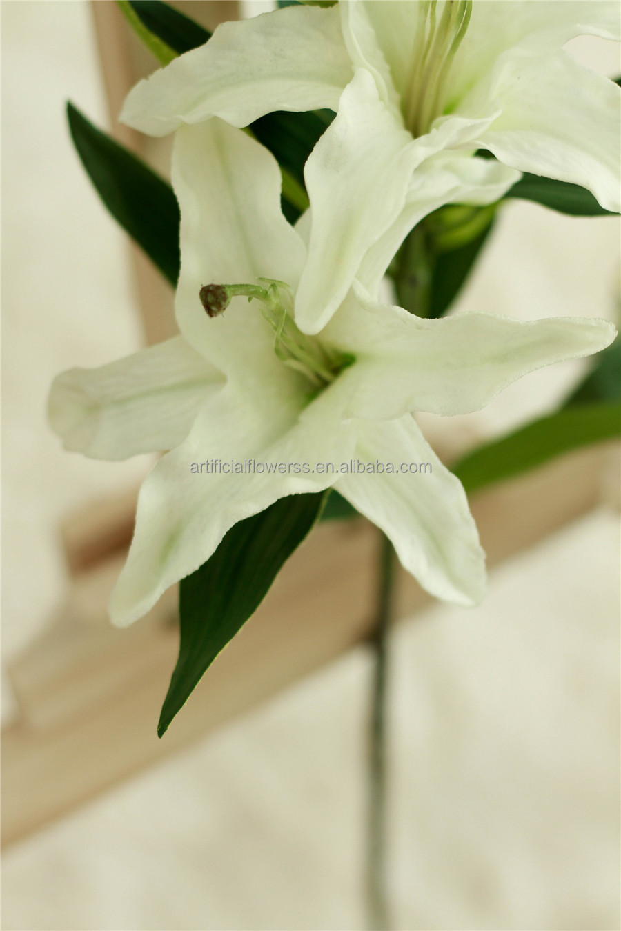 Fake white artificial lily flowers wholesale tiger lily buy lily fake white artificial lily flowers wholesale tiger lily izmirmasajfo
