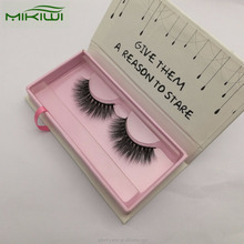 Hot Private Label Custom Magnetic Eyelashes Packaging Box Hand Made Individual Premium 3d Mink Lashes With Own Logo Wholesale