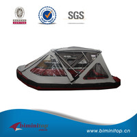 20% off waterproof Transparent PVC 3 bow bimini top tent