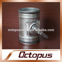 Manufacture Round Gravity Fire smoke Damper for HVAC System