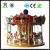 Antique kids amusement ride carousel horse for electric racing go karts saleQX-126A