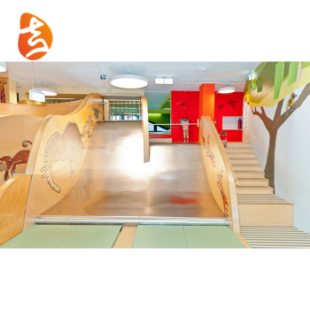 Hot Sale High Quality Funny Spiral Outdoor Kids Playground Slide