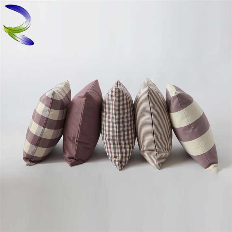 Fashion Cheap Custom Sofa Seat Cushion Covers 24 Inch Lumbar Support Pads Sofa Cushion Printing Pillow Cover