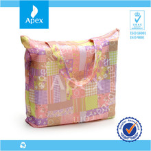 printed cheap nylon foldable shopping bag