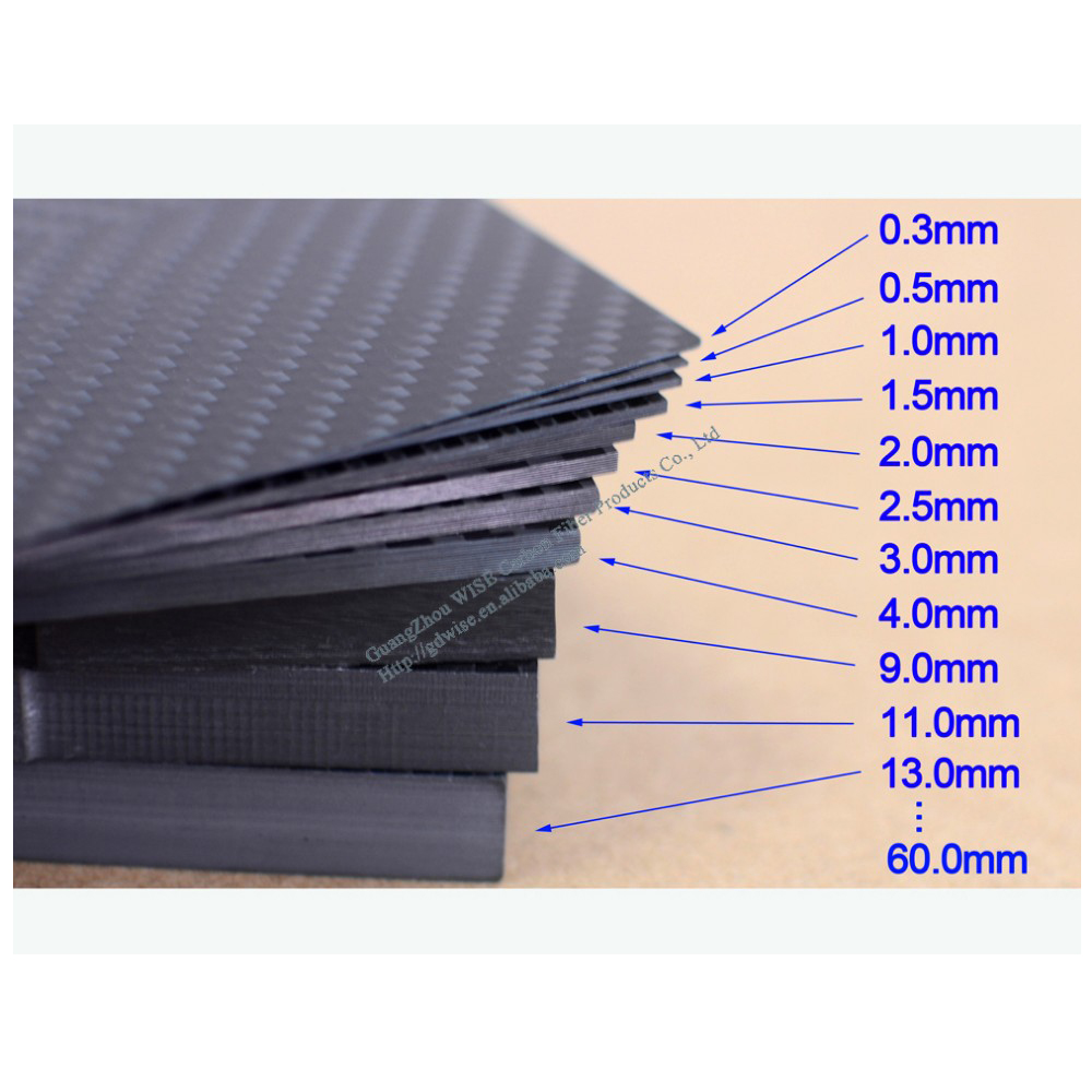 400*500mm 500x600mm 600x1000mm10.0mm3K <strong>Carbon</strong> fiber sheet plate