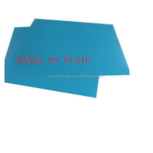 Positive ps plate for offset printing, used on lithographic printing