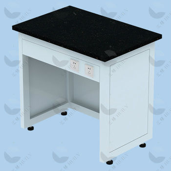High Quality Steel Marble Countertop Laboratory Balance Table