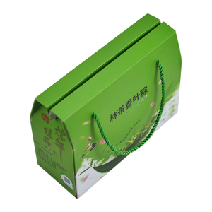 Wholesale Custom Small Design Print Packaging Cardboard Corrugate Paper Carton Box Package Empty Boxes With Handle
