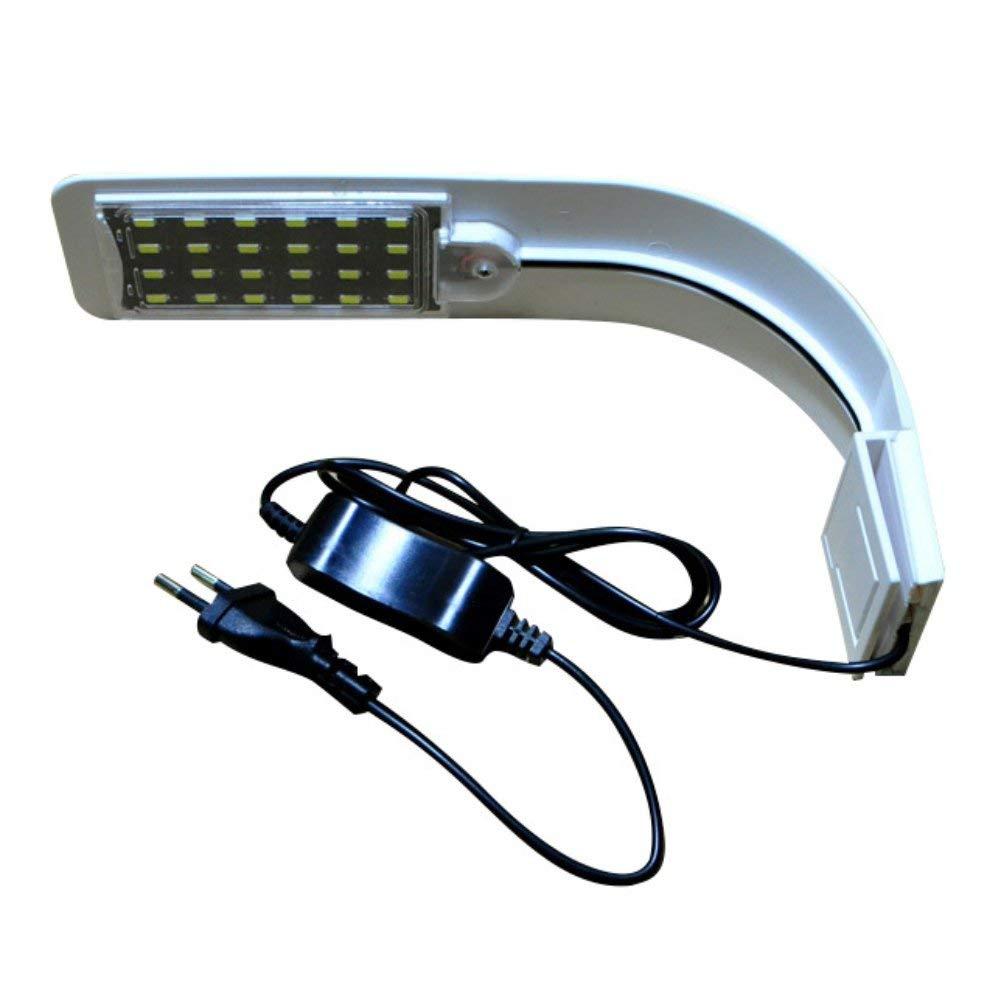 10W High Brightness Aquarium Fish Tank 5730 LED Light Energy-Saving Lamp EU Plug long life-span Fish Aquatic Pet Lightings Bar