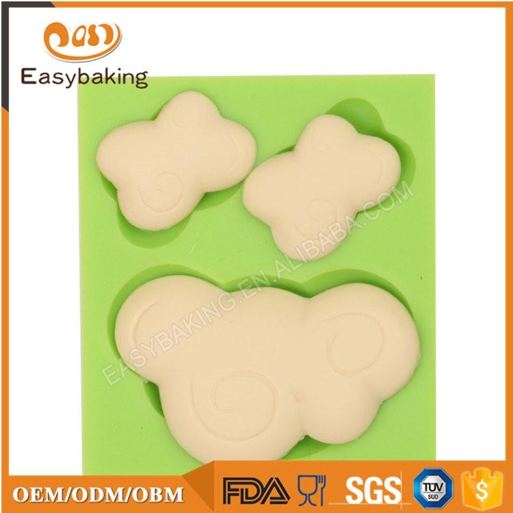 ES-4609 Cartoon Theme Silicone Fondant Cake Decorating Mold
