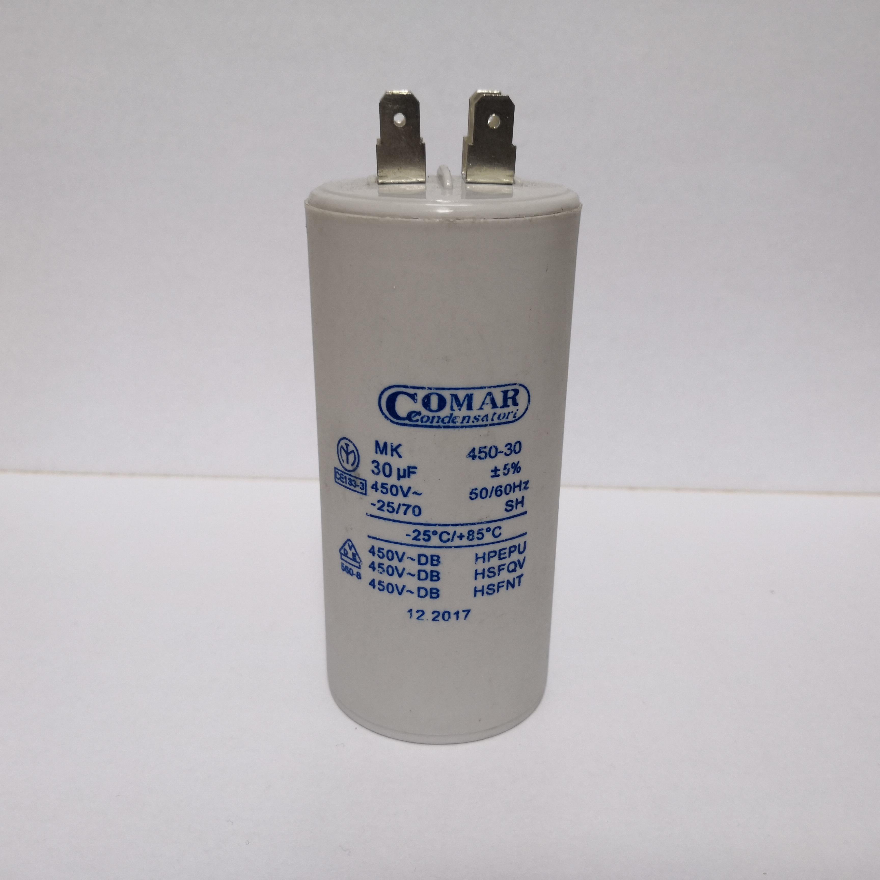 Cbb60 Capacitor Double Insert 30uf 250vac 300vac 450vac 50
