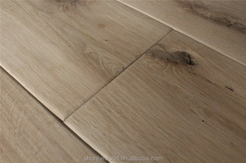 Houten vloeren eiken brede plank goedkoop fsc carb ce draad