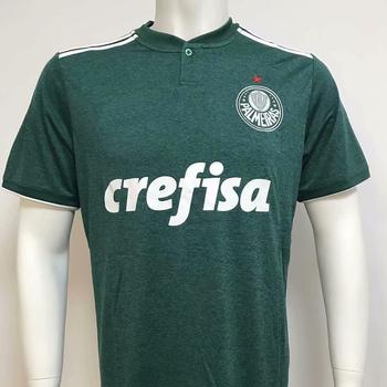 2b240b667cdf3 Campeonato Brasileiro Serie 2018 de fútbol uniformes Sociedade Esportiva  Palmeiras SP hacer camisetas de fútbol