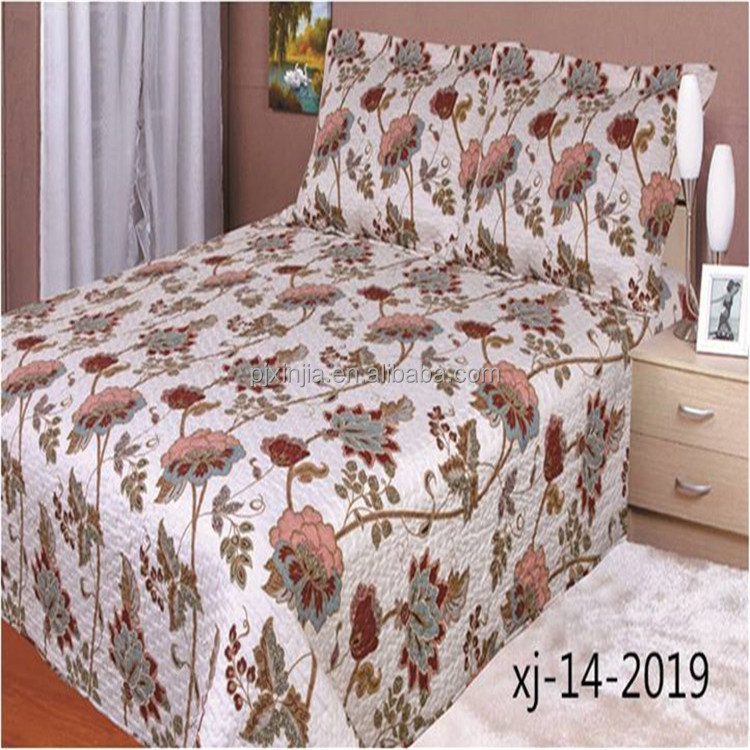 New coming manufacturer sale polyester filling adult silk patchwork quilt