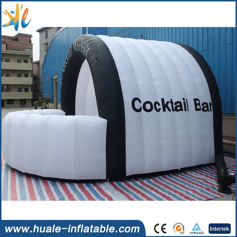 Outdoor inflatable bar tent , inflatable pub tent party on sale