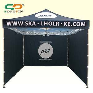 Cheap Waterproof Pop Up Easy Fold Full Printing Wall 10x10 Canopy Tent