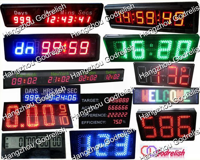 Plastic scrolling message sign made in China