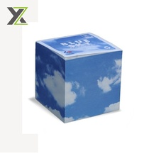 Custom Pagina 'S blue sky fancy note cube sticker <span class=keywords><strong>memo</strong></span> <span class=keywords><strong>pad</strong></span>